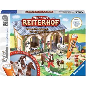 Ravensburger tiptoi® Tier-Set Reiterhof ohne Stift
