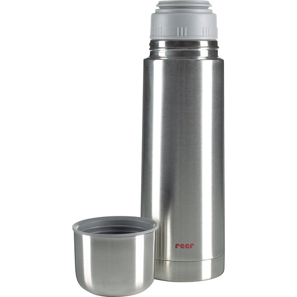 Reer Thermoflasche Edelstahl 05 l