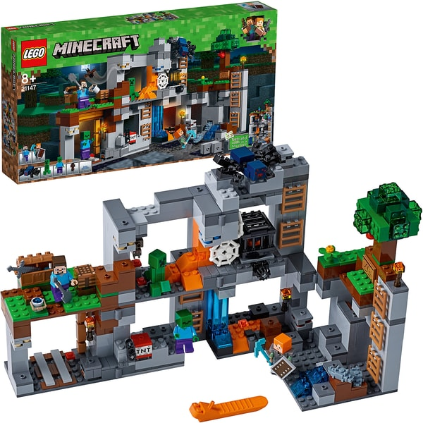 LEGO Minecraft 21147 Abenteuer in den Felsen