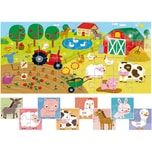 Lisciani 8 +1 Baby Puzzles Bauernhof
