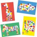 DJECO Sticker: Große Tiere
