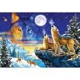 Castorland Puzzle 1000 Teile Heulende Wölfe