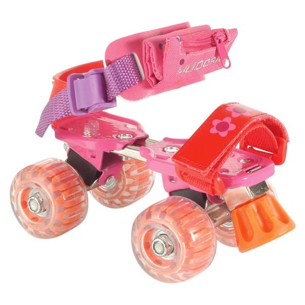 Hudora Rollschuh Girlie pink Größe 21-31