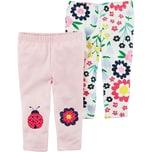 Carter`S Baby Doppelpack Leggings für Mädchen