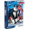 Clementoni Galileo Big Picture Puzzle 1000 Teile Airport Dog