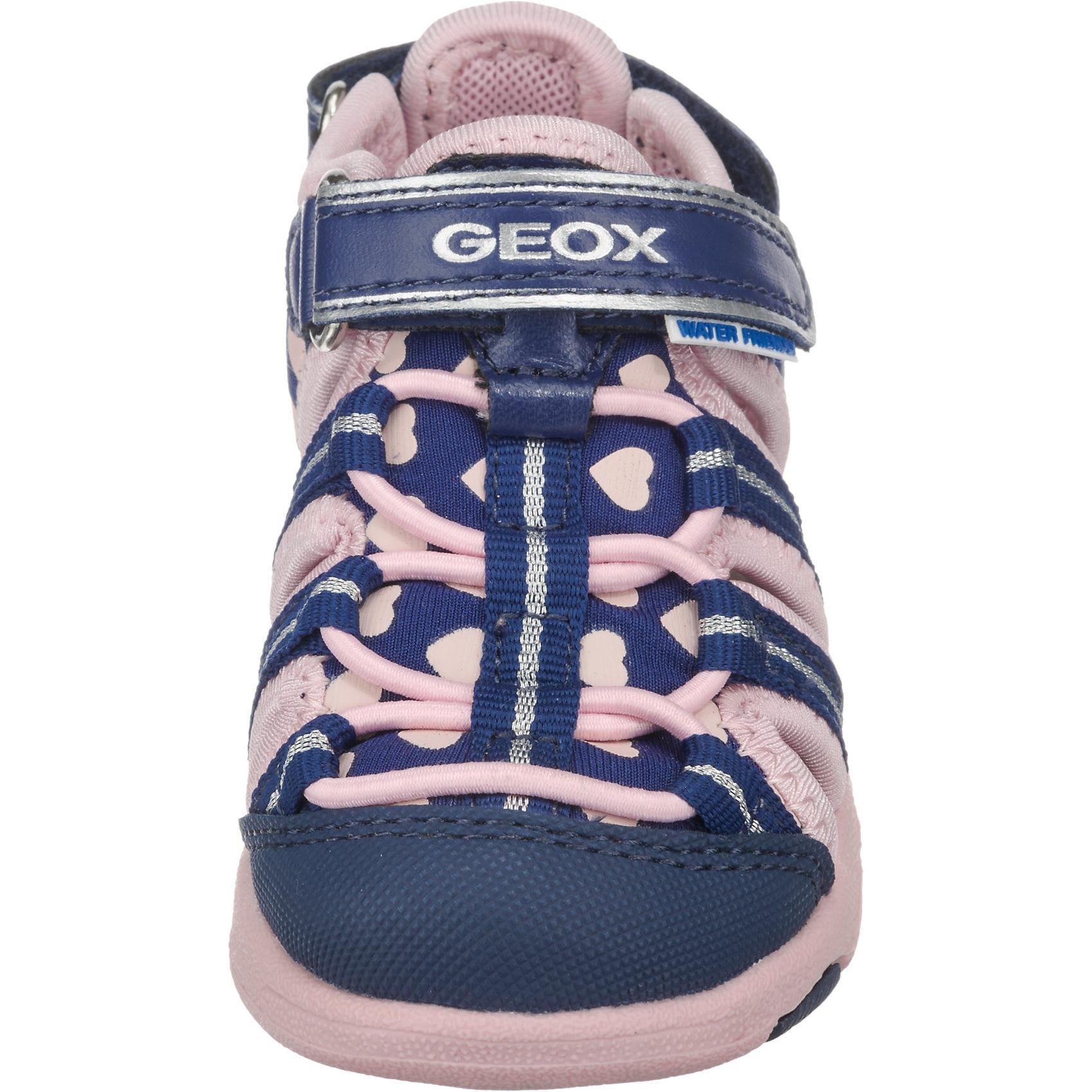 Geox Baby Sandalen Sand.Multy für Mädchen Herzen