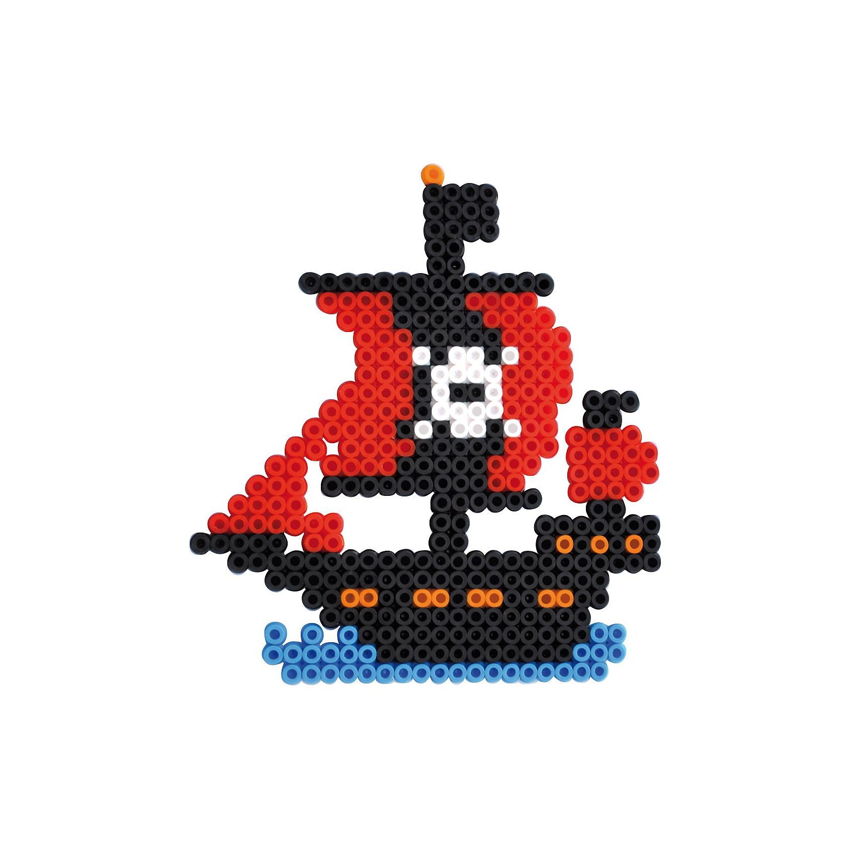 Playbox Bügelperlenset Piraten, 2000 Perlen & Zubehör