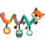 Infantino BKids Spiel-Spirale für den Kindersitz Fuchs