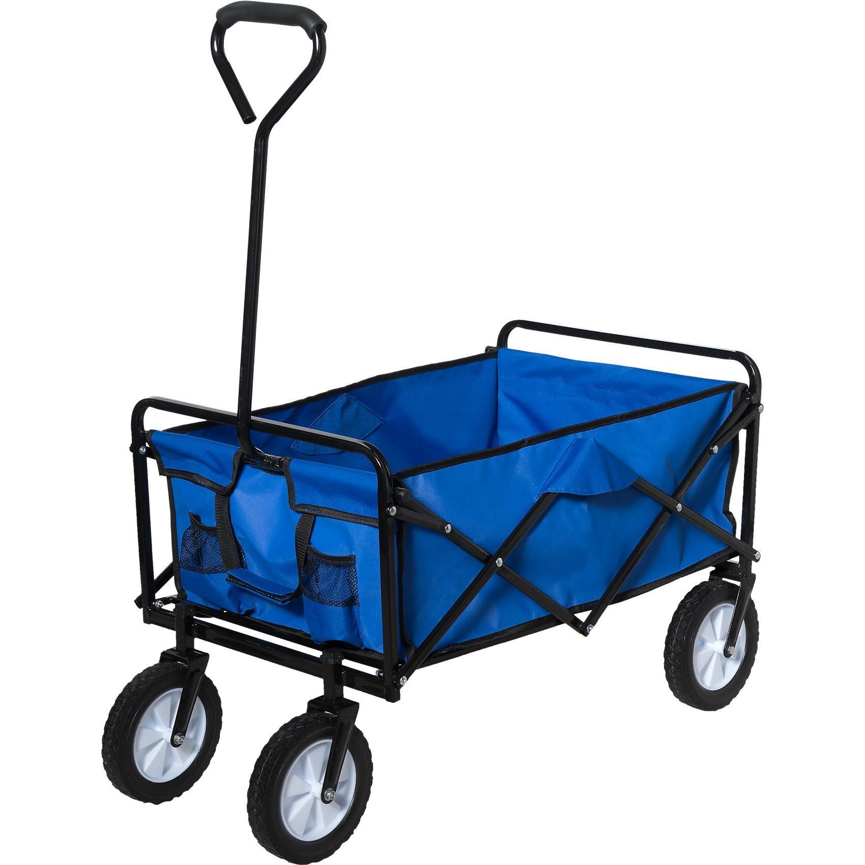 Happy People Bollerwagen blau