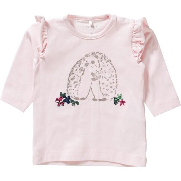 Name It Baby Langarmshirt Nbfodine für Mädchen Organic Cotton