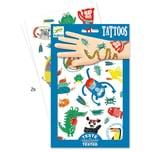 DJECO Tattooset Tiere 2 Bögen