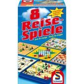 Schmidt Spiele Brettspiel Spielesammlung 8 Reise-Spiele