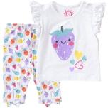 Lemon Beret Baby Set T-Shirt mit Pailletten Leggings