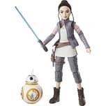 Hasbro Star Wars Die Mächte des Schicksals Deluxe Actionfiguren Rey und BB-8
