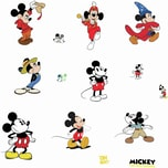 Roommates Wandsticker Disney Mickey Mouse The True Original 90Th Anniversary