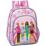 safta Kinderrucksack Barbie Dream Big