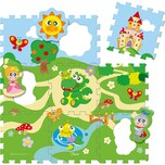 Chicco Puzzlematte Schloss 9-tlg.