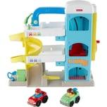 Mattel Fisher-Price Little People Parkhaus Parkgarage mit Spielzeugautos Spielset