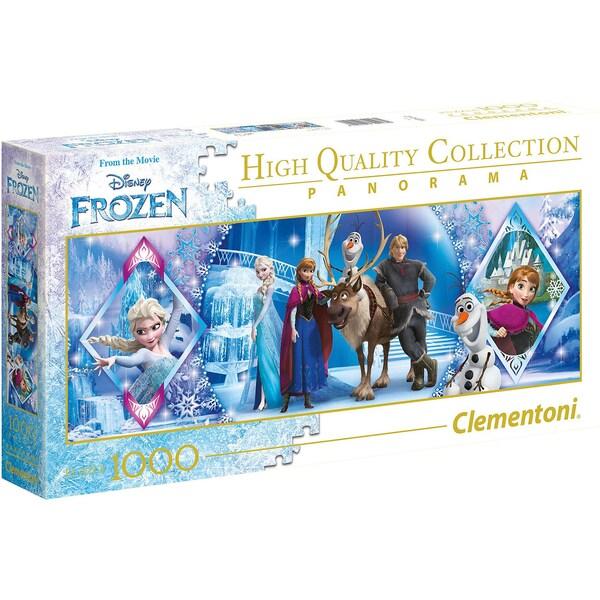 Clementoni Panorama-Puzzle 1000 Teile Die Eiskönigin