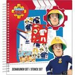 Undercover Schablonen Set Feuerwehrmann Sam
