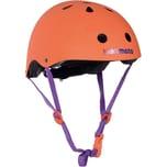 kiddimoto Fahrradhelm - Orange Matt - M 53-58cm