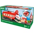 Brio Eisenbahn-Transporthubschrauber