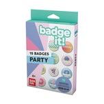 Bandai Badge It! Buttonmaschine Nachfüllpack Party