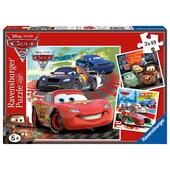 Ravensburger Disney Cars Weltweiter Rennspaß Puzzle 3x49-teilig