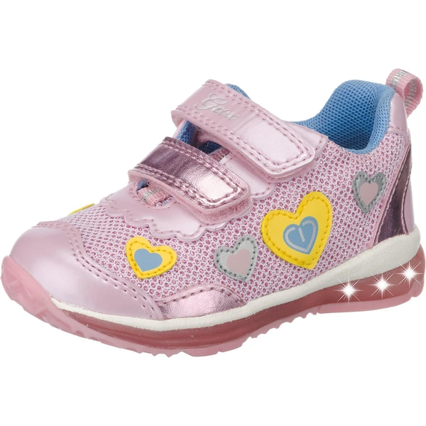 Geox Baby Halbschuhe Blinkies Todo für Mädchen Herzen