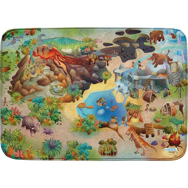 Achoka Ultrasoft Spielteppich Dinos 100 X 150 cm