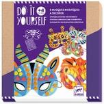 DJECO Do it yourself - Mosaik-Masken Dschungeltiere