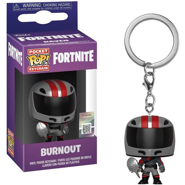 Funko Pop! Schlüsselanhänger: Fortnite S2 Burnout