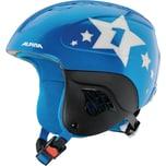 Alpina Skihelm Carat blue star metallic