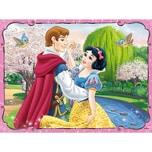 Trefl 2 Puzzles Memo Disney Princess Schneewittchen
