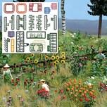 Busch Blumen- und Pflanzenset H0