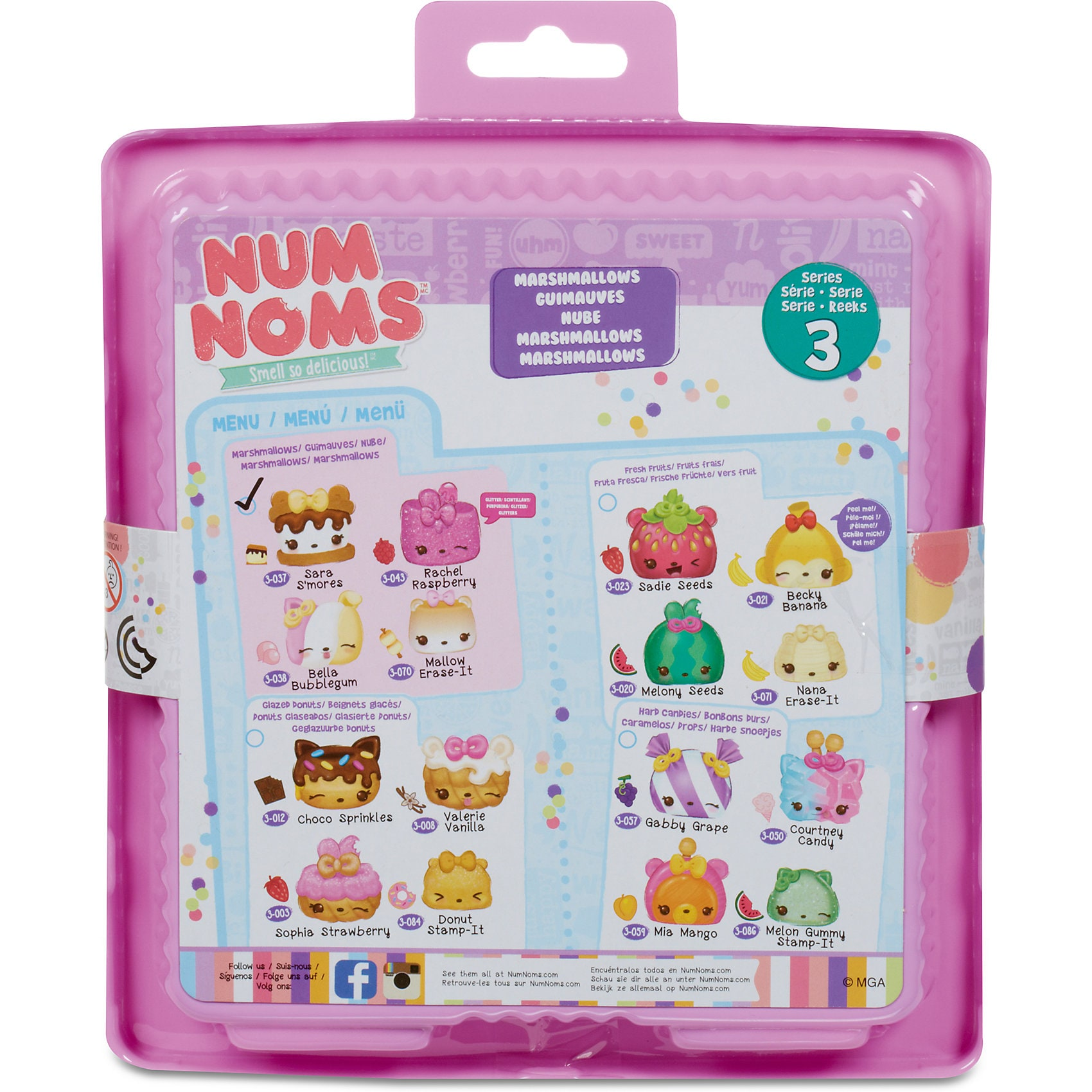 MGA Num Noms Starter Pack Series 3Marshmallows