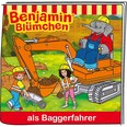 Tonies Benjamin Blümchen als Baggerfahrer