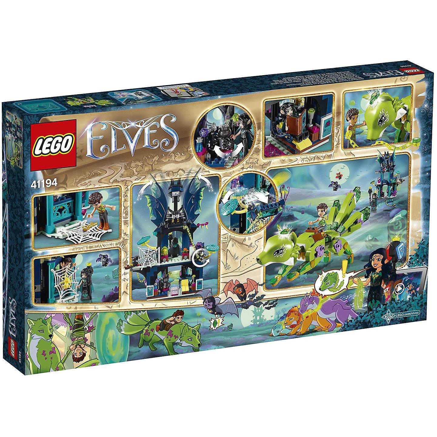 Lego Elves 41194 Nocturas Turm und die Rettung des Erdfuchses
