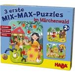 Haba 3 erste Mix-Max-Puzzles - Im Märchenwald