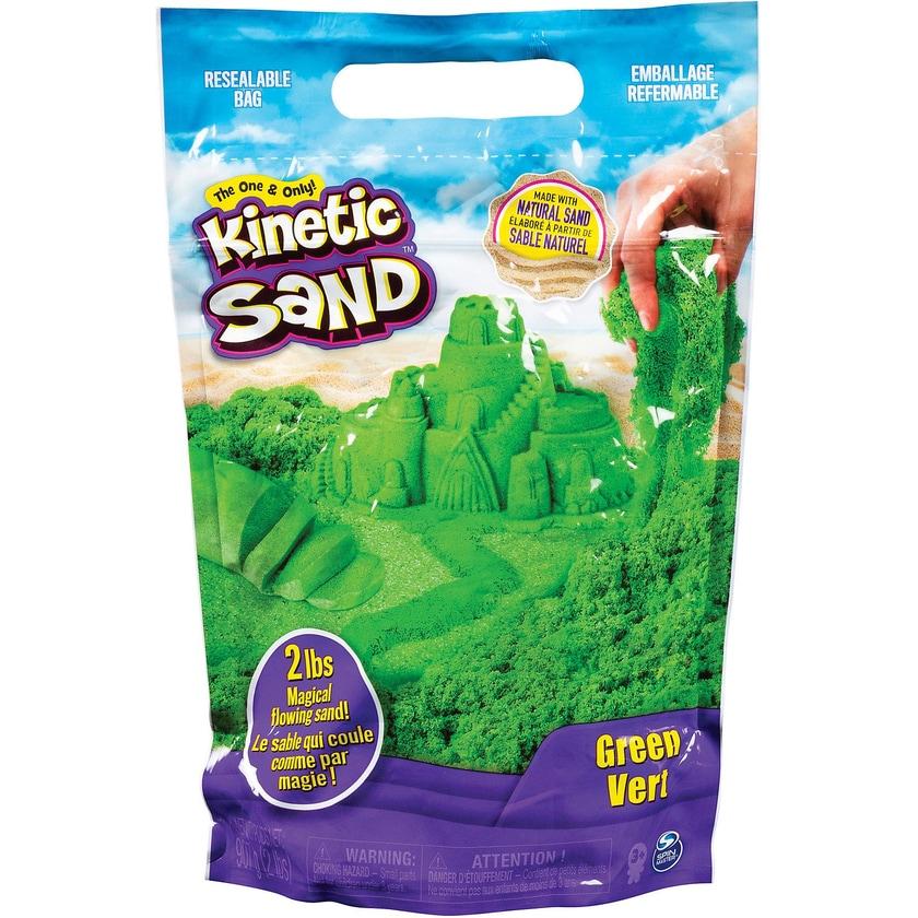 Spin Master Kinetic Sand grün 907 g Beutel