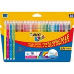 BIC Kids Kid Couleur Filzstifte 24 Farben