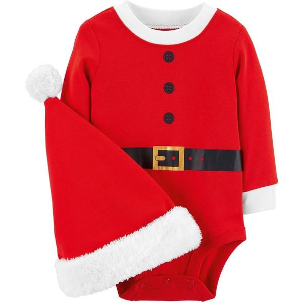 carter`s Langarmbody Weihnachten mit Mütze