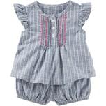 Oshkosh Baby Set Kurzarmbluse und Shorts