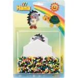 Hama Perlen 4206 Blister Igel Schildkröte 1.100 Midi-Perlen Zubehör