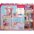 Mattel Barbie Haus Möbel und Pool Geschenkset inkl. 3 Barbie-Puppen