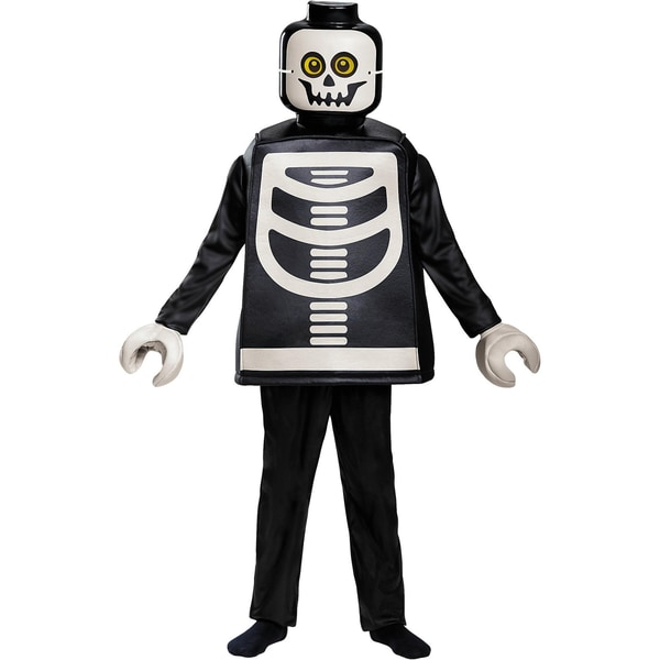 LEGO Kostüm LEGO Skelett Deluxe 5-tlg.
