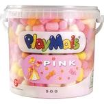 PlayMais Basic Eimer pink 500 Maisbausteine