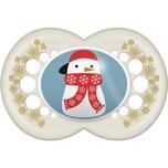 MAM Schnuller Original Silikon Gr. 3 Winter snowman 2er Pack