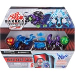 Spin Master Bakugan Baku-Gear Pack mit 4 Armored Alliance Bakugan Ultra Aquos Nillious Ultra Darkus