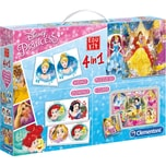 Clementoni Edukit 4 in 1 Disney Princess